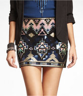 Express embellished skirt