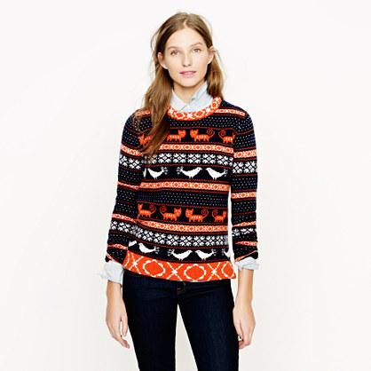 J. Crew fair isle sweater