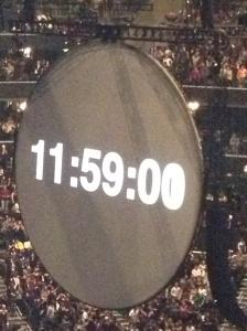 Countdown at Coldplay:Jay Z