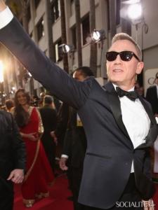 Daniel Craig golden globes 2013
