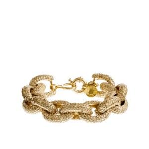 J. Crew classic pave link bracelet