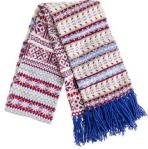JCrew fair isle scarf
