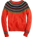 JCrew fair isle sweater