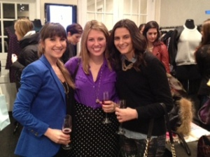 Maggie, Kait, and I at Cynthia Rowley