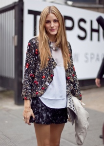 Olivia Palermo sequins