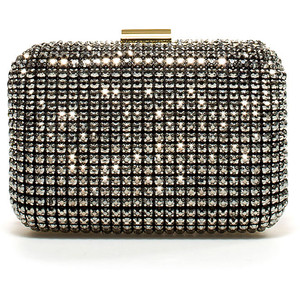 Zara jeweled box clutch