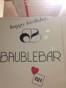 Baublebar Revelry House bday