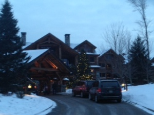 front of Whiteface Lodge