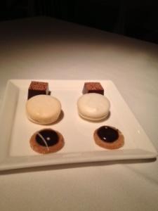 Gramercy Tavern dessert sampling