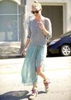 Kate Bosworth wedge sneakers