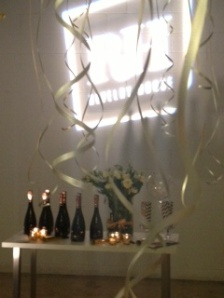 Revelry House champagne