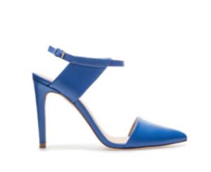Zara pointed vamp heel side view