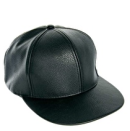 Asos leather baseball cap