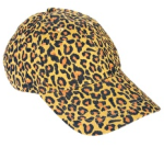 Asos pieces greta leopard print cap