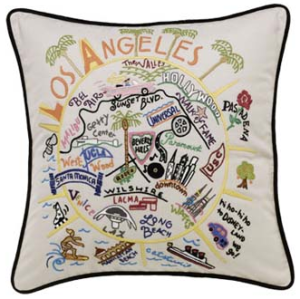 Catstudio Los Angeles pillow