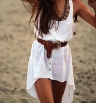 Coachella hi:low dress