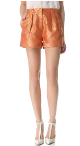 Elizabeth & James Stevie Jacquard shorts