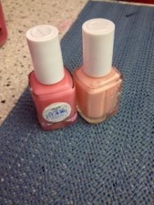Essie manicure choices