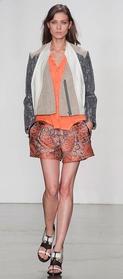 Helmut Lang shorts suit