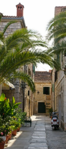 Hvar Croatia street