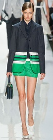 Michael Kors shorts suit