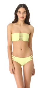 Mikoh swimwear sunset looped bikini