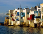 Mykonos buildings
