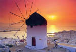 Mykonos wind mill