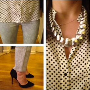 ootd print shirt with print pants