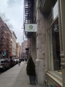 Piperlime Soho sign