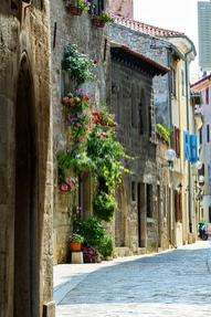 Porec Croatia street