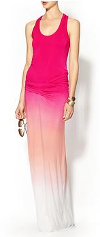 Young Fabulous and Broke Hamptons Sunset Ombre dress