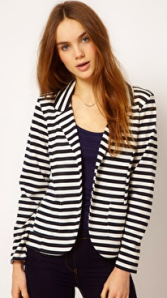 Asos striped blazer
