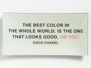 Coco Chanel tray