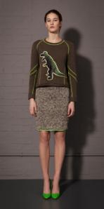 Emma Cook dinosaur sweatshirt