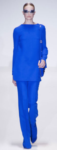 Gucci monochromatic blue