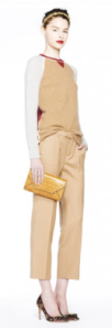 J. Crew monochromatic tan