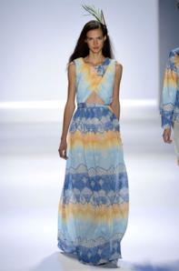 Mara Hoffman spring 2013 cutout maxi dress
