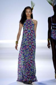 Mara Hoffman spring 2013 maxi dress