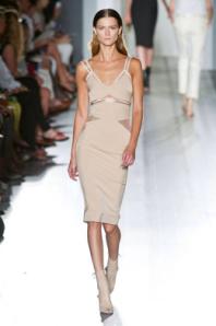 Victoria Beckham cutout dress spring 2013