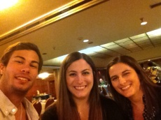 Danny Stephanie and I at the Queen Mary