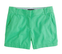 "J. Crew 5"" chino short in sea glass"