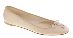 J. Crew classic leather ballet flat