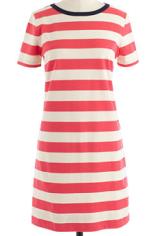 J. Crew rugby stripe dress