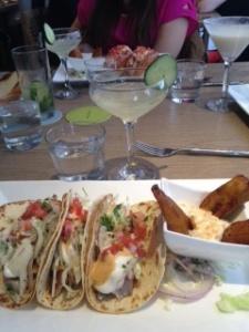 Tommy Bahama fish tacos