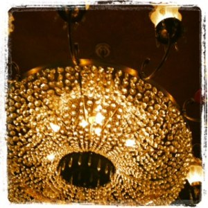 Ziegfeld theater chandelier