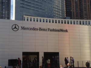 Mercedes Benz Fashion Week spring 2014