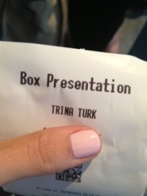 Trina Turk ticket